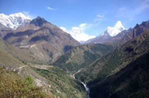 Nepal trek to Everest base camp