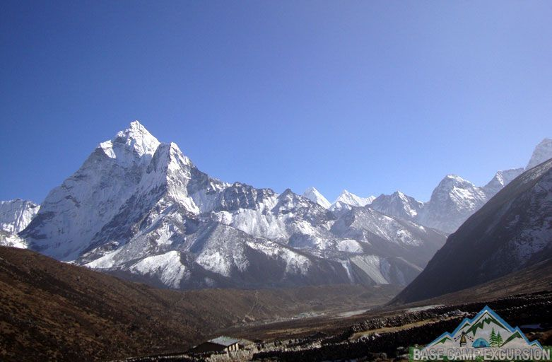 Pheriche village - Gorak shep to Pheriche distance, weather and elevation