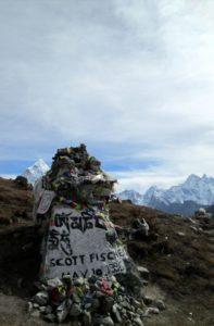 Scott Fischer, Memorial Chorten in Nepal the Founder of Mountain Madness
