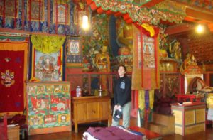 Short easy Everest trek to Tengboche Monastery