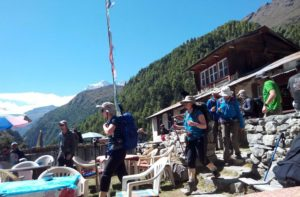 Tea houses on Everest base camp trek