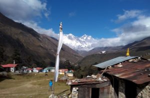 Tengboche monastery with Namche bazaar to tengboche trek distance