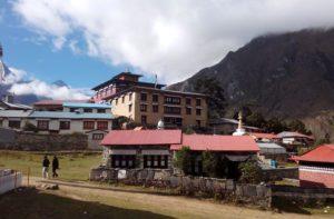 Tengboche Monastery - Buddhist temple in Khumjung, Nepal