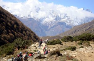 Tengboche Monastery to Dingboche trek and Everest Base Camp