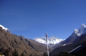 Tengboche to Namche Bazaar after Everest Base Camp
