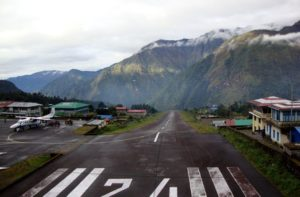 Tenzing Hillary Airport Nepal - World's scariest airport Lukla