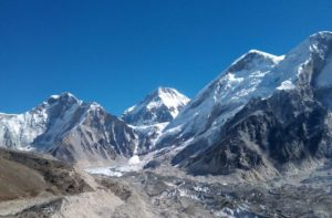 gorak shep to everest base camp distance 3.4 Km