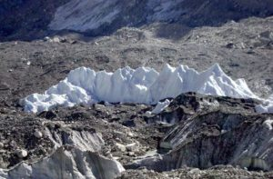 mount everest base camp temperature