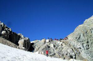 Dzongla to Thagnak via Cho La pass connect Everest base camp and gokyo lakes trek