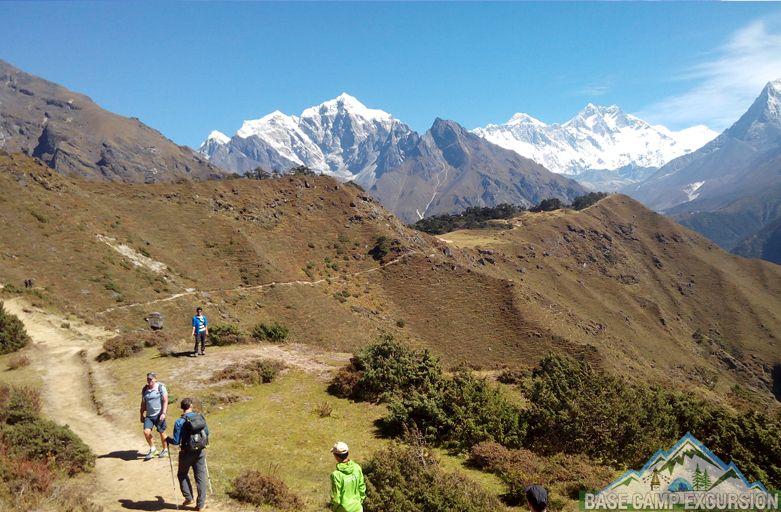 Everest region easy and short treks Nepal