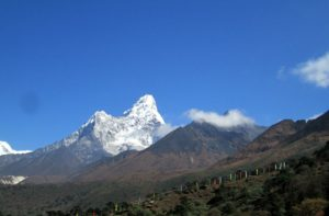 Beautiful Mountain Ama Dablam in Sagarmatha National Park Facts & Information
