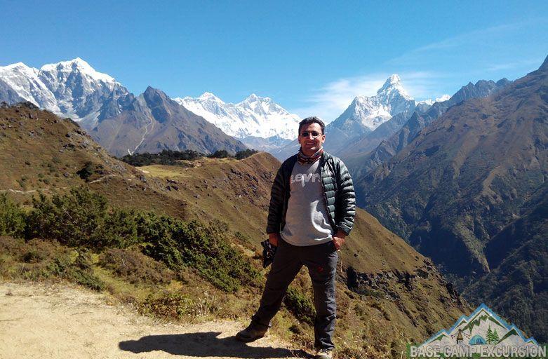 Namche bazaar to Everest base camp trek distance