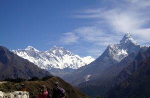 Best place to see Mount Everest from Nepal