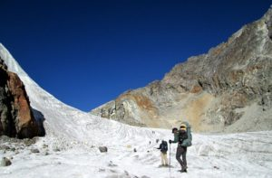 Cho la pass Nepal difficulty & elevation to crossing Cho la pass in Everest the Himalayas