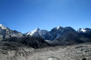 Khumbu glacier to Kongma la pass difficulty and elevation a part of Everest 3 passes trek