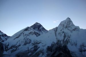 Sunrise view of Mount Everest from Kala Patthar
