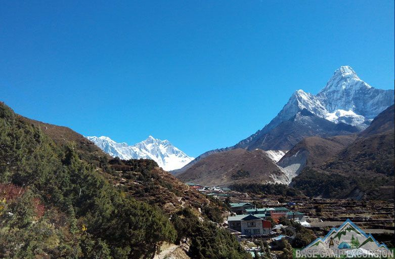 Pangboche village & Pangboche to Ama Dablam base camp distance