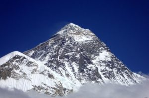 Picture of Mount Everest & photos taken from the top of Mount Everest