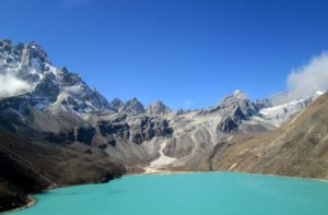 Gokyo Renjo la pass trekking in Himalaya lodge to lodge trip