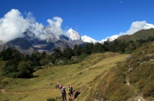 Day Hiking in Nepal from Namche Bazaar to National Park Museum & Everest view point