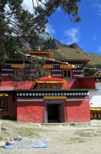 Khumjung Monastery at Khumjung village Nepal