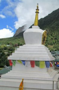 Chhorten at Chheplung village on Lukla sightseeing one of the best things to see in Lukla area