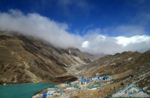 Gokyo Village in Nepal highlight part of Gokyo valley trek 10 days walk around Gokyo lakes & Gokyo ri