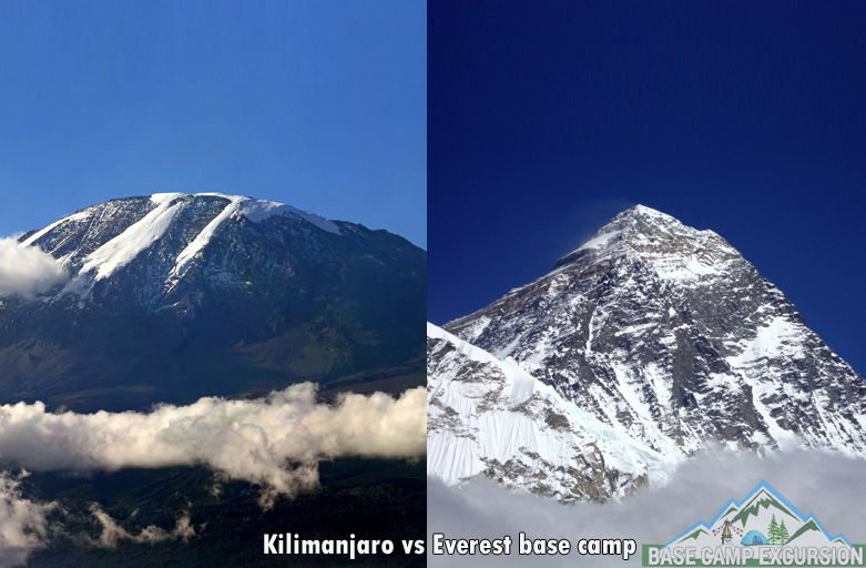 Comparison to climb Kilimanjaro vs Everest base camp trek difficulty - Kilimanjaro Vs Everest trek