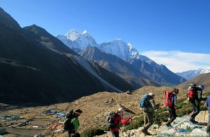 Everest base camp trekking in Nepal best time of year