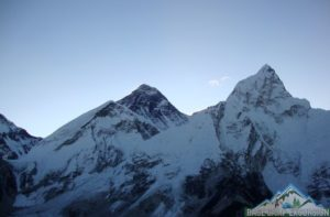 Mt. Everest base camp charity trek to Himalayas in Nepal, Asia