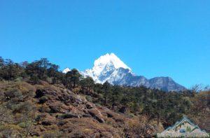 Statistics of Mount Everest base camp trek elevation gain overview