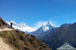 Mt. Everest view family trek package in Mount Everest region Himalaya