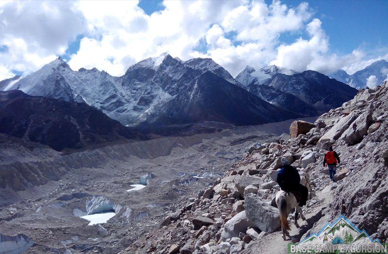 Horse riding trek to Everest base camp with Everest trekking organizer