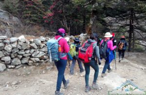 Package from India to Everest base camp trek cost Indian rupees