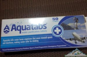 Water purification tablets to make safe drinking water on Everest base camp trek