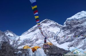 The Everest base camp trek helicopter return 8 days trip to Nepal with cost