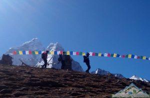 Trekking guide team for Everest base camp adventure in Nepal