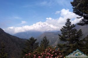 Hotel Everest view trek during Everest base camp trek in Himalaya