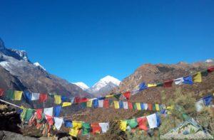Less touristy parts of Everest region of Himalaya trekking Nepal