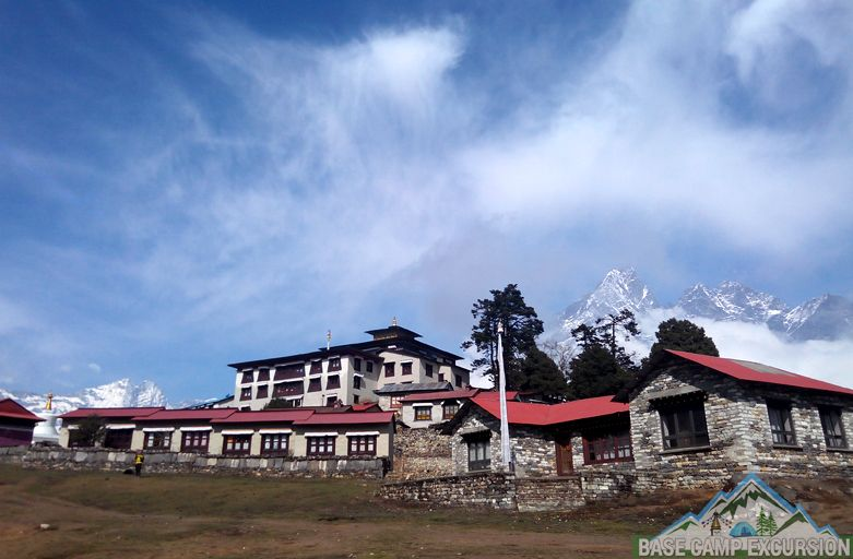 Monasteries on Everest base camp trail of Sagarmatha national park