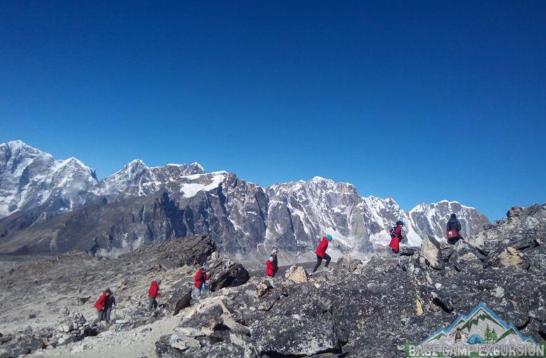 Package for Everest base camp trek student adventures including flights