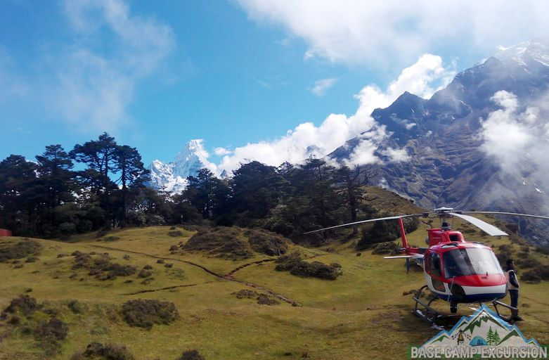 Helicopter tour to Mount Everest for breakfast on top of the World