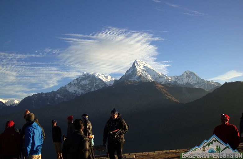 Nayapul to Ghorepani poon hill trek package to visit poon hill Nepal