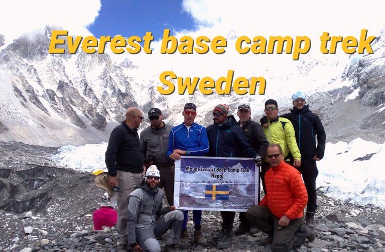 Documentary of the Everest base camp trek from Sweden
