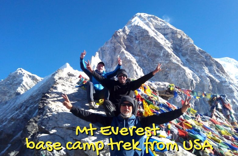 Mount Everest base camp trek from United States