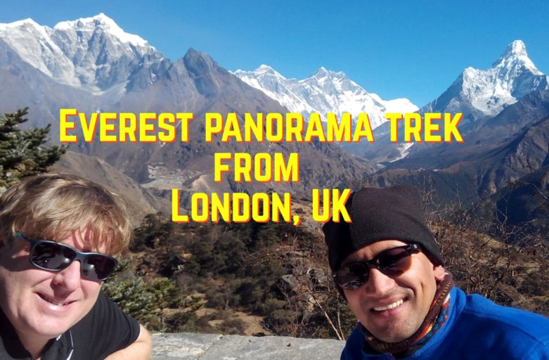 Most popular Everest base camp trek from United Kingdom